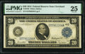 Fr. 979b $20 1914 Federal Reserve Note PMG Very Fine 25