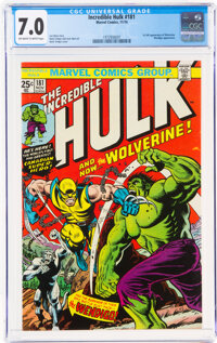 The Incredible Hulk #181 (Marvel, 1974) CGC FN/VF 7.0 Off-white to white pages