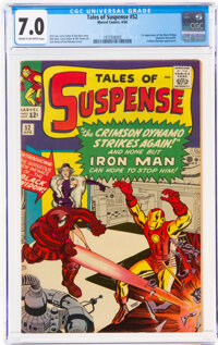 Tales of Suspense #52 (Marvel, 1964) CGC FN/VF 7.0 Cream to off-white pages