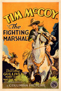 """Movie Posters:Romance, The Fighting Marshal (Columbia, 1931). Fine+ on Linen. One Sheet (27"""" X 41"""").. ..."""