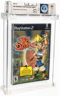 Jak and Daxter: The Precursor Legacy - Wata 6.0 B Sealed [Sony Security Label], PS2 Sony 2001 USA