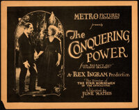 """The Conquering Power (Metro, 1921). Fine/Very Fine. Title Lobby Card (11"""" X 14"""")"""