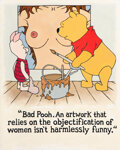Paintings, Ron Rocheleau (American, 20th Century). Untitled (Bad Pooh!). Acrylic on canvas. 50 x 40 inches (127...