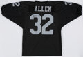 Autographs:Jerseys, Marcus Allen Signed Los Angeles Jersey - The Johnny Mack Collection....