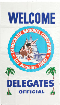 John F. Kennedy: Large Democratic National Convention Collection
