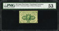 Fr. 1241 10¢ First Issue PMG About Uncirculated 53
