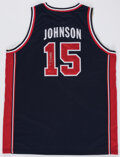 Autographs:Jerseys, Magic Johnson Signed Dream Team Jersey, The Johnny Mack Collection. ...