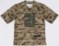 """Autographs:Jerseys, Deion Sanders Signed Atlanta Falcons """"Salute to Service"""" Jersey - The Johnny Mack Collection...."""