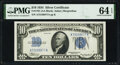 Small Size:Silver Certificates, Fr. 1701 $10 1934 Silver Certificate. PMG Choice Uncirculated 64 EPQ.. ...