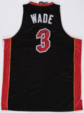 Autographs:Jerseys, Dwyane Wade Signed Miami Heat Jersey - The Johnny Mack Collection....
