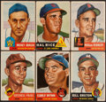 Baseball Cards:Lots, 1953 Topps Baseball Collection (38) With Satchell Paige....