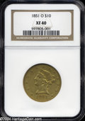 Liberty Eagles: , 1851-O XF40 NGC. The current Coin Dealer Newsletter (...