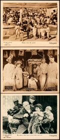 """Movie Posters:Short Subject, Our Gang in Tire Trouble & Other Lot (Pathé, 1924). Very Fine. Lobby Cards (3) (11"""" X 14"""").. ... (Total: 3 Items)"""