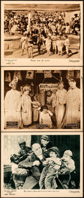 """Our Gang in Tire Trouble & Other Lot (Pathé, 1924). Very Fine. Lobby Cards (3) (11"""" X 14""""). ... (To..."""