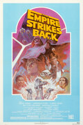 "Movie Posters:Science Fiction, The Empire Strikes Back (20th Century Fox, R-1982). Very Fine+ on Linen. Test Print One Sheet (27"" X 41"") Teal Style, Tom Ju..."