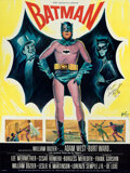 """Movie Posters:Action, Batman (20th Century Fox, 1967). Folded, Very Fine+. Autographed Full-Bleed French Grande (45.5"""" X 61.5"""") Boris Grinsson Art..."""