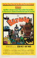 """Movie Posters:Action, Batman (20th Century Fox, 1966). Very Fine on Linen. One Sheet (27"""" X 41"""").. ..."""