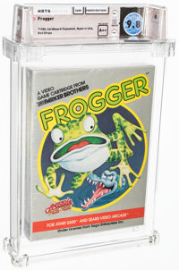 Frogger - Wata 9.8 A++ Sealed [Red Stripe, Later production], 2600 Parker Brothers 1982 USA