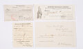 Political:Small Paper (pre-1896), [Abraham Lincoln/George B. McClellan]: Soldiers' Voting Documents....