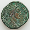Ancients:Roman Imperial, Ancients: Commodus, as Augustus (AD 177-192). AE sestertius (31mm, 22.88 gm, 1h). VF....
