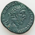 Ancients:Roman Imperial, Ancients: Commodus, as Augustus (AD 177-192). AE sestertius (29mm, 17.89 gm, 12h). VF....