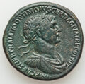 Ancients:Roman Imperial, Ancients: Trajan (AD 98-117). AE sestertius (33mm, 23.30 gm, 6h). Choice VF, smoothing, tooling....