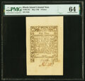 Colonial Notes:Rhode Island, Rhode Island May 1786 9d PMG Choice Uncirculated 64.. ...