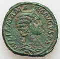 Ancients:Roman Imperial, Ancients: Julia Mamaea (AD 222-235). AE sestertius (32mm, 23.25 gm, 11h). VF, light deposits....