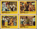 """Movie Posters:Musical, Satchmo the Great (United Artists, 1957). Fine+. Lobby Cards (4) (11"""" X 14""""). Musical.. ... (Total: 4 Items)"""