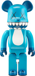 Sculpture, KAWS x BE@RBRICK. Chompers 1000%, 2003. Painted cast vinyl. 28 x 13-1/4 x 9 inches (71.1 x 33.7 x 22.9 cm). Stamped on t...