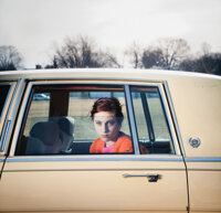 Cig Harvey (British, 1973) The Pale Yellow Cadillac, Sadie, Portland, Maine (from the You Look at Me Like an Em