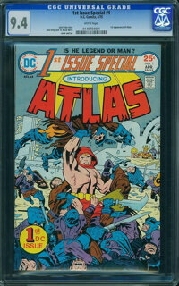 1st Issue Special #1 (DC, 1975) CGC NM 9.4 White pages