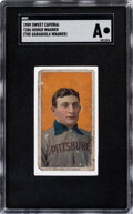 Baseball Cards:Singles (Pre-1930), 1909 T206 Sweet Caporal Honus Wagner (The Garagiola Wagner) SGC Authentic....