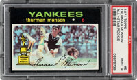 1971 Topps Thurman Munson All-Star Rookie #5 PSA Mint 9