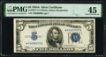 Small Size:Silver Certificates, Fr. 1651* $5 1934A Silver Certificate. PMG Choice Extremely Fine 45.. ...