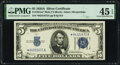 Small Size:Silver Certificates, Fr. 1651* $5 1934A Mule Silver Certificate Star. PMG Choice Extremely Fine 45 EPQ.. ...