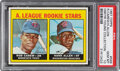 Baseball Cards:Singles (1960-1969), 1967 Topps Rod Carew A.L. Rookie Stars #569 PSA Gem Mint 10--Dmitri Young Collection....