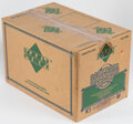 Baseball Cards:Unopened Packs/Display Boxes, 1990 Upper Deck Baseball Low Numbers Case With Twenty 36-Count Boxes. ...