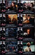"""Movie Posters:Action, Captain America: The First Avenger (Paramount, 2011). Very Fine/Near Mint. French Lobby Card Set of 8 (8.5"""" X 11"""") With Orig... (Total: 8 Items)"""