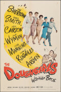 """Movie Posters:Comedy, The Doughgirls (Warner Bros., 1944). Folded, Fine/Very Fine. One Sheet (27"""" X 41""""). Comedy. From the Collection of Frank B..."""