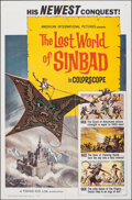 """Movie Posters:Fantasy, The Lost World of Sinbad (American International, 1965). Folded, Very Fine. First US Release One Sheet (27"""" X 41""""). Fantasy...."""