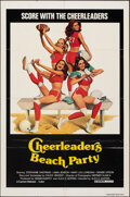 """Movie Posters:Sexploitation, Cheerleaders Beach Party & Other Lot (Cannon, 1978). Folded, Fine/Very Fine. One Sheets (2) (27"""" X 41""""). Sexploitation.. ... (Total: 2 Items)"""
