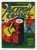 Golden Age (1938-1955):Superhero, Action Comics #47 (DC, 1942) Condition: GD/VG First cover appearance of Lex Luthor. The Vigilante, Mr. America, and Congo Bi...
