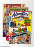 Silver Age (1956-1969):Superhero, Adventure Comics Group (DC, 1967-68) Condition: Average FN+. This group includes #356, 359, 360, 362, and 366 (Neal Adams co... (Total: 5 Comic Books Item)