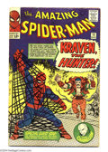 Silver Age (1956-1969):Superhero, The Amazing Spider-Man #15 (Marvel, 1964) Condition: VG+. Steve Ditko cover and art. First appearance of Kraven the Hunter. ...