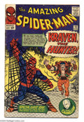 Silver Age (1956-1969):Superhero, The Amazing Spider-Man #15 (Marvel, 1964) Condition: GD. The first appearance of Kraven the Hunter; the first mention of Mar...