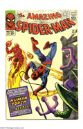 Silver Age (1956-1969):Superhero, The Amazing Spider-Man #21 (Marvel, 1965) Condition: VG/FN. The Human Torch appears. Steve Ditko cover and art. Overstreet 2...