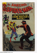 Silver Age (1956-1969):Superhero, The Amazing Spider-Man #26 (Marvel, 1965) Condition: VG. Fourth appearance of the Green Goblin. First appearance of Crime Ma...
