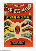 Silver Age (1956-1969):Superhero, The Amazing Spider-Man #31 (Marvel, 1965) Condition: FN. First appearance of Harry Osborn who later becomes the second Green...