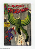 Silver Age (1956-1969):Superhero, The Amazing Spider-Man #48 (Marvel, 1967) Condition: VF-. Origin of the second Vulture. John Romita Sr. cover and art. Overs...